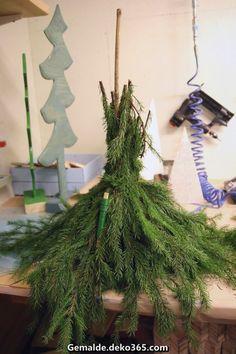 Zauberhafte Rebecca DIY: Kieferngrüner Weihnachtsmann * Udendørs Kobold #kieferngruner #kobold #rebecca #udend #weihnachtsmann