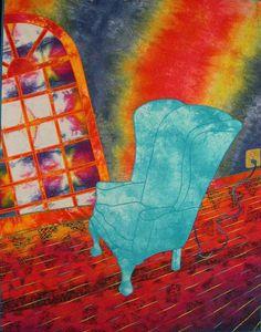 """What a fun series: """"Blue Electric Chair"""""""