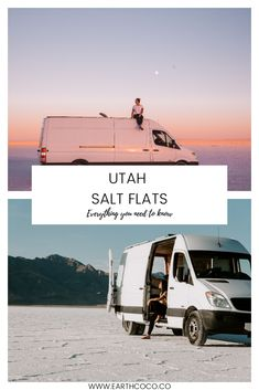 Utah Bonneville Salt Flats is OUT OF THIS WORLD! You must add this gorgeous and wild bucketlist destination on your list! Beautiful Places To Visit, Oh The Places You'll Go, Banff National Park, National Parks, Salt Flats Utah, Park Landscape, Utah Hikes, My Escape, Travel Couple