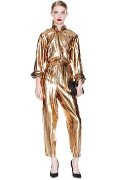 Gold Mine Jumpsuit | Nasty Gal