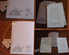 Προσκλητήριο γάμου με φάκελο. Invitation for marriage with the envelope Invitations, Books, Prints, Libros, Book, Save The Date Invitations, Book Illustrations, Shower Invitation, Invitation