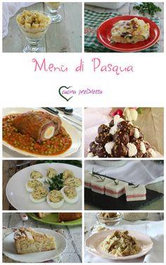 Menù completo per il pranzo di #Pasqua  https://blog.giallozafferano.it/cucinaprediletta/menu-di-pasqua/