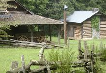 http://www.foxfire.org/museum.html Foxfire Heritage Museum: 20+ Buildings and memorabilia from the Appalachian Pioneer Culture--up to 180 year old buildings--cabins, mill, blacksmith, church, etc.