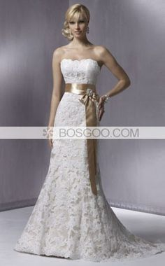 Oh wow.  I don't ever want to wear a wedding dress but that ain't too shabby