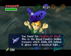 THE LEGEND OF ZELDA Mini Ocarina Pendant Necklace