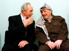 The true legacy of Shimon Peres is as the dove who gave cover to Israel's hawks. Shimon Peres, Yasser Arafat, Palestine History, True Lies, Converse, Oslo, Ny Times, Couple Photos, Hawks