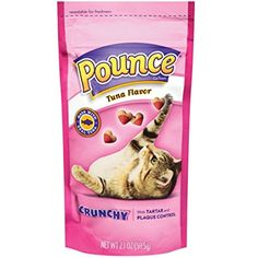 Pounce Crunchy Treats - Tuna - 2.1 oz -- For you to view further for this item, visit the image link. (This is an affiliate link and I receive a commission for the sales)