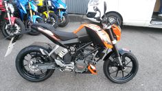 Another Superb KTM 125 Duke on its way to a new home