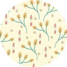 SALE by the yard Valley Creosote Ivory by Sherri & Chelsi for Moda Fabrics - 37510 11 Moda - Sold by 1 Yard Teal Flowers, Thing 1, Red Arrow, Plant Design, Modern Fabric, Sewing Notions, Pattern Wallpaper, Ivory, Quilts