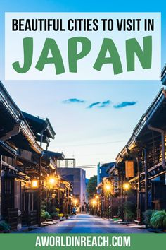 Japan is full of incredible cities, from bustling Tokyo to quieter cities like Takayama. This guide has everything you need to know about the best cities to visit in Japan to help make your Japan trip planning a breeze! things to do in Japan / planning a trip to Japan / places to visit in Japan / what to do in Tokyo / tips and tricks for Japan travelers / best places to see in Japan / travel tips for Japan / best cities in Japan / best photo spots in Japan / #Japan #JapanTravelTips