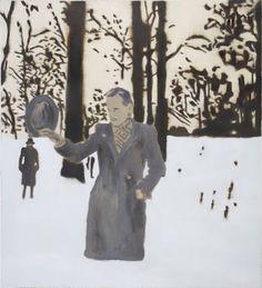 Uwe Wittwer (Swiss, b. 1954), Wintertag (Winter Day), 2007. Oil on canvas, 55 × 50 cm.