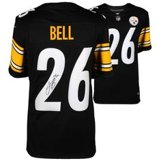 Le'Veon Bell Pittsburgh Steelers Fanatics Authentic Autographed Nike Black Limited Jersey