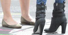 """Megan Fox Films Teenage Mutant Ninja Turtles in Awful Fendi """"Diana"""" Boots"""