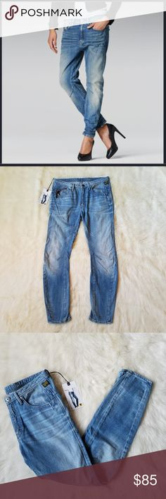 G-Star Raw Women/'s Arc 3D Super Skinny Jeans Size 25 x 32 NWT Low Rise Black