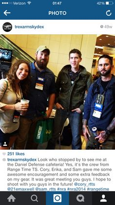 T-Rex, Cory and Erica, and Sam from Range Time Tactical!