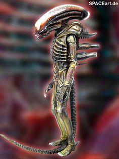 Alien 1: Big Chap Alien Warrior, Modell-Bausatz ... https://spaceart.de/produkte/al124.php