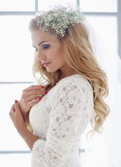 We've brought back more glamorous wedding hairstyles from Elstile to start off the day with impeccable beauty featuring brilliant braids!
