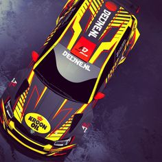 Rally design for Skoda Fabia from Wevers Sport. Car in yellow and red colours in gloss on black matte vinyl. E92 335i, Nascar, Racing Car Design, Skoda Fabia, Subaru Wrx, Car Tuning, Rally Car, Car Wrap, Car Photography