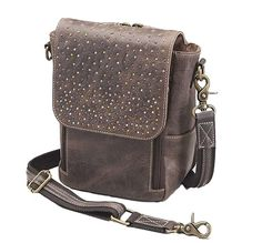 (This is an affiliate pin) Concealed Carry Distressed Buffalo Leather Crossbody Satchel by Gun Tote'n Mamas Distressed Leather, Tan Leather, Leather Crossbody, Leather Backpack, Crossbody Bags, Concealed Carry Purse, Conceal Carry, Concealed Handgun, Cross Body Satchel