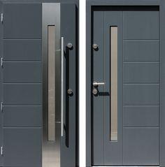 Drzwi wejściowe do domu z katalogu inox wzór 475,5-475,15