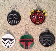 Star Wars Villains Ornament set by KatSprites on Etsy
