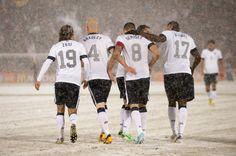 U.S. vs. Costa Rica Snow Game