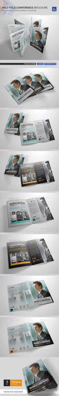 85 X 11 Bi-Fold Brochure Planners, 11 and X - half fold brochure template