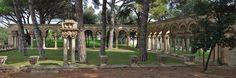 Claustre del Mas del Vent  Claustre, recreació moderna  Info: www.monestirs.cat/monst/baemp/bp18vent.htm