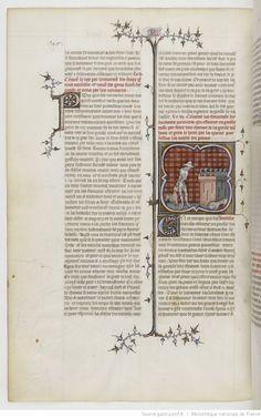 Grandes Chroniques de France. Date d'édition : 1375-1380 179v