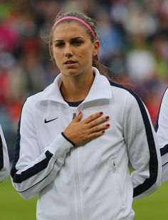Or a track jacket. | 25 Reasons Why Alex Morgan Is The Perfect Lady