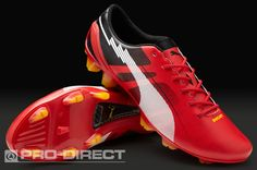 07a1a04f98b3 Puma evoSPEED 1 Ducati SL FG Boots - Red White Lemon
