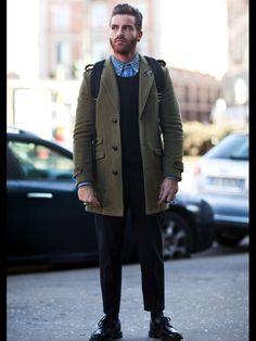 Men's Fall/Winter Street Fashion.  I'm a sucker for a good winter coat.