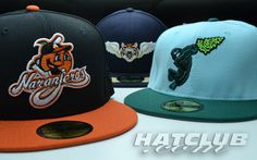 New Era Minor League Hats. Flying Tigers, Eugene Emeralds, and Naranjeros de Hermosillo Fitted Caps. $34.99