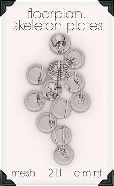 floorplan. skeleton plates | Flickr - Photo Sharing!