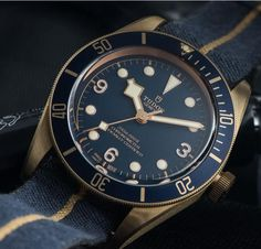 Tudor Black Bay Bronze, Diving Watch, Seiko, Other Accessories, Fasion, Omega Watch, Rolex Watches, Movie, Blue