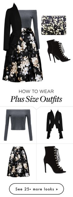"""Winter floral"" by safireblue23 on Polyvore featuring Givenchy"