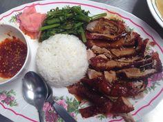 Peking eend als ontbijt