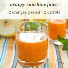 Orange sunshine juice
