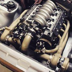 Hawks F92 Superhawk 408ci  #BecauseSS with a Twin Prescion turbo setup. 408ci LSX twin turbo