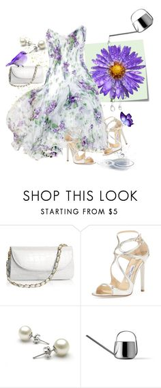 """The One With The Big Daisy Pic!"" by loves-elephants ❤ liked on Polyvore featuring Post-It, Jimmy Choo and Menu"