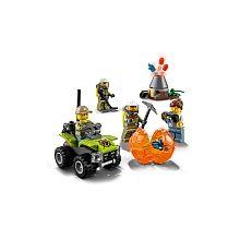 """LEGO City - Conjunto Inicial do Vulcão - 60120 - LEGO - Toys""""R""""Us"""