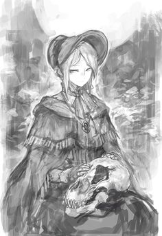 Plain-Doll-BloodBorne-Игры-BB-art-3000961.gif (481×700)
