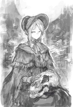 Plain-Doll-BloodBorne-Игры-BB-art-3000961.gif (481×700)