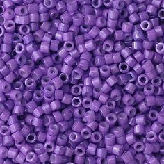 Dyed Opaque Red Violet Miyuki Delica Seed Beads DB1379 Size 11 - Glass Miyuki Japanese -Beadloom Supplies, Beading - Beadweaving - Solid by PuebloAndCo on Etsy https://www.etsy.com/listing/204733016/dyed-opaque-red-violet-miyuki-delica