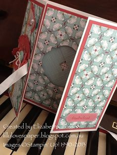 magic window card more details and original tutorial on my blog  Lillybet's Papers