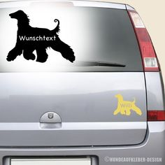 Afghane Autoaufkleber mit Wunschtext