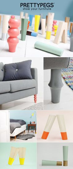 Revamp your furniture with   PRETTY PEG LEGS