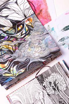 Helen Wells sketchbooks
