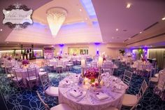 Beach Wedding Ombre Purple Boca Resort Raton And Club By Design Palm Photography