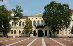 BÉKÉSCSABA.Városháza Heart Of Europe, Homeland, Hungary, Notre Dame, Mansions, House Styles, City, Travel, Home Decor